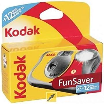 Kodak KOD401040 - Cámara de un Solo Uso, Multicolor