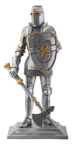 Crusader Knight Statue Finishing Figurine product image