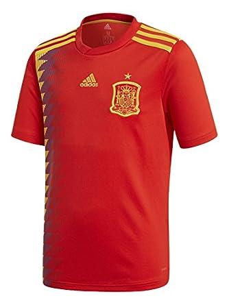 27f92541 adidas Camiseta de la Selección Española de Fútbol para el Mundial 2018,  Réplica Oficial, Niños, 1ª Equipación: Amazon.es: Ropa y accesorios