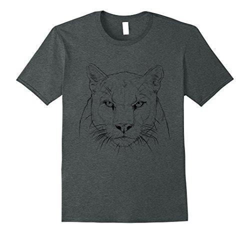 Mens Mickey Puma Tee Shirt Large Dark Heather