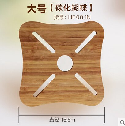 Generic Bamboo placemat heat insulation pad bamboo coasters dining table mat plate pad circle coasters pot holder bowl pad 7 by Generic