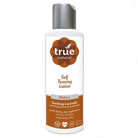 True Natural Organic Self Tanner, Light-Medium Tan 3.4 fl.oz. -