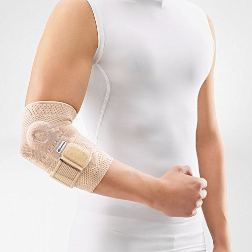 Bauerfeind - EpiTrain - Elbow Support - Targeted Compression for Chronic Elbow Pain - Size 3 - Color Nature by Bauerfeind (Image #2)