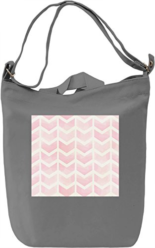 Watercolor Pattern Borsa Giornaliera Canvas Canvas Day Bag| 100% Premium Cotton Canvas| DTG Printing|