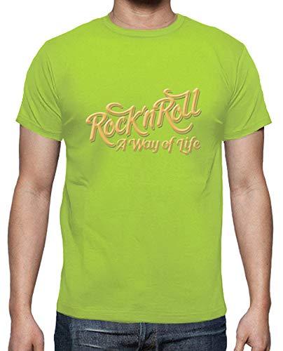 Tostadora shirt N T Pistacchio Rock Wol Uomo Roll w4qpZw5zrW