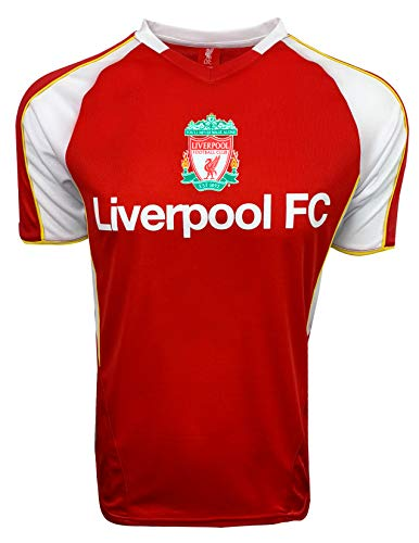 (Liverpool Official FC Classic Training Jersey for Kids and Adults, Shirt (Youth Medium (7-9 Years)))