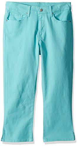 (Levi's Women's Classic Capris, Worn fair Aqua, 27 (US 4))