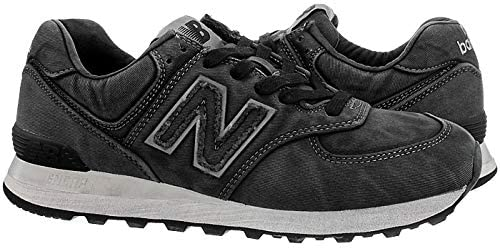 NEW IN THE BOX NEW BALANCE ML574WSB BLACK SHOES FOR MEN