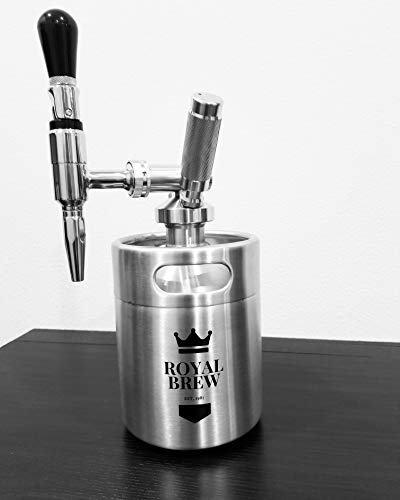 Royal Brew Nitro Cold Brew Coffee Maker Kit 64 Ounce Stainless Steel Keg Homebrew System 2.0 by Royal Brew (Image #7)