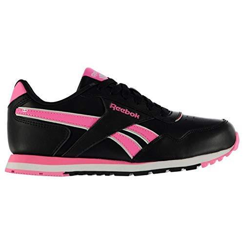Reebok nere rosa Classic Glide Junior Scarpe Sneakers TrxAFqgT