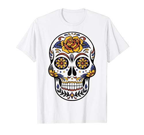 Halloween Day of the Dead Tshirt Costume Idea Costume Shirt ()