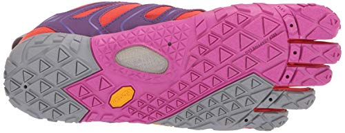 Vibram FiveFingers V-Trail, Women's Trail Running Shoes, Orange (Magenta/Orange), 5-5.5 UK (36 EU) by Vibram (Image #3)