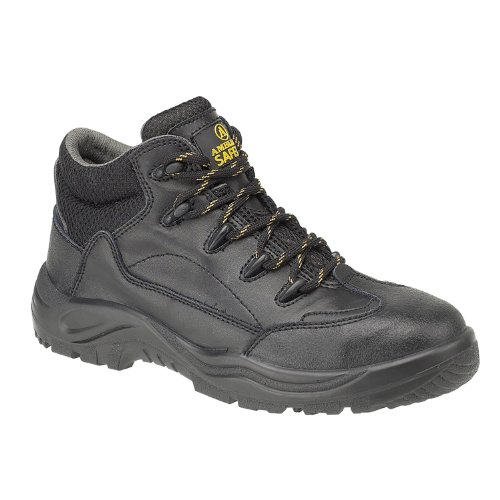 Safety Steel Boots Black FS54C Mens Boot Amblers Eq67x71