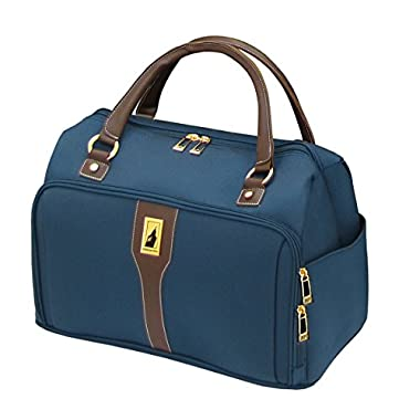 London Fog Westminster 17 Inch Deluxe Cabin Bag, Navy, One Size