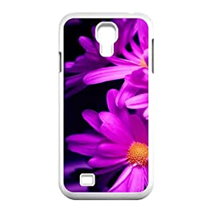 Samsung Galaxy S4 Cases Flower 214 for Men, Case for Samsung Galaxy S4 Mini I9195 for Men [White]