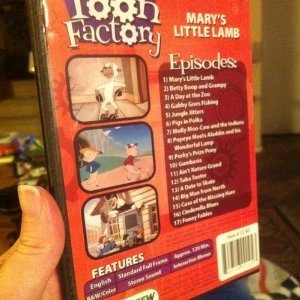 Amazon Com Toon Factory Mary S Little Lamb Art Clokey Chuck Jones Max Fleischer Movies Tv