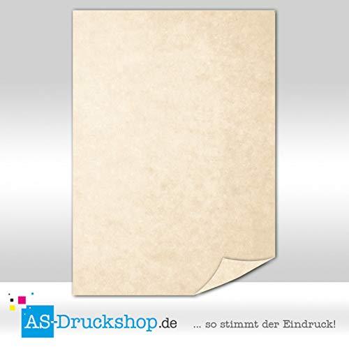 150 g-Papier Sahara-beige Botticino DIN A5 100 Blatt Marmorpapier