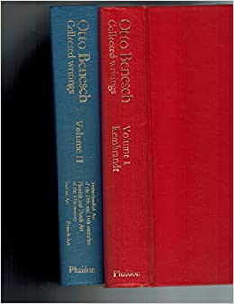 otto benesch collected writings volume i rembrandt and volume ii netherlandish art of the 15th and 16th centuries flemish and dutch art of the 17th century italian art french art