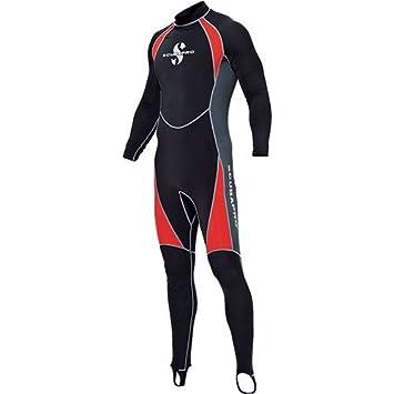 Scubapro - Everflex Skin Suit Man, Color Black, Talla L: Amazon.es ...