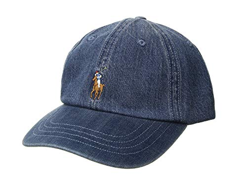 Ralph Lauren Polo Denim Baseball Cap Men's One Size