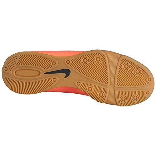 Nike Mercurial Vortex II IC Botas de fútbol, Hombre Amarillo / Plateado / Verde (Brght Mng / Mtllc Slvr-Hypr Trq)