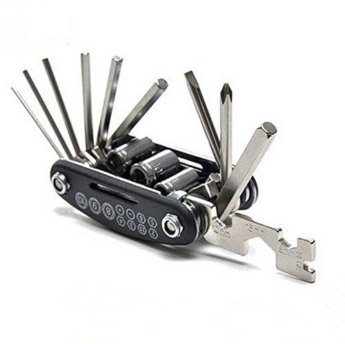 Blade Hex Allen Screw Socket (LOOYUAN Motorcycle Travel Repair Tool Allen Key Multi Hex Wrench Screwdriver For Honda)