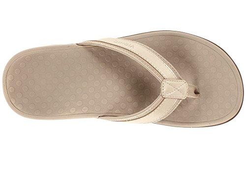Vionic con órtesis Tide II Sandalias de Mujer Gold Metallic,