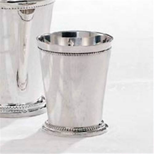 Godinger Beaded Silver Mint Julep Cup 542