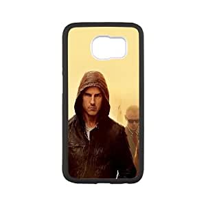 Samsung Galaxy S6 Cell Phone Case Black hg11 mission impossible tom cruise film art yellow LV7123522