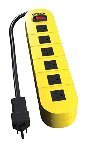 Stanley 31609 ShopMax 6 Outlet Protector