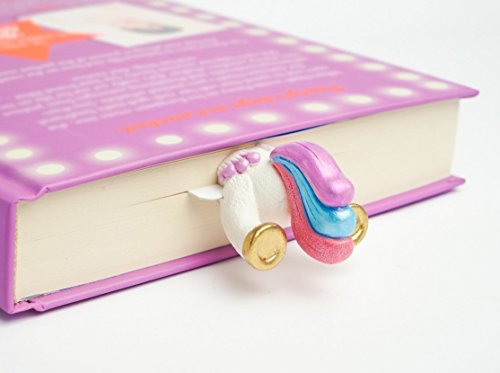 Unicorn Tail from FAIRYLAND collection. MyBookmark Ideal Gift For Everyone. Truly Handmade and Crafted With Love. by MyBookmark