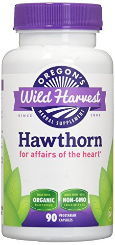 Oregon's Wild Harvest Hawthorn Organic Herbal Supplement, 90 Count (Pack of 2)
