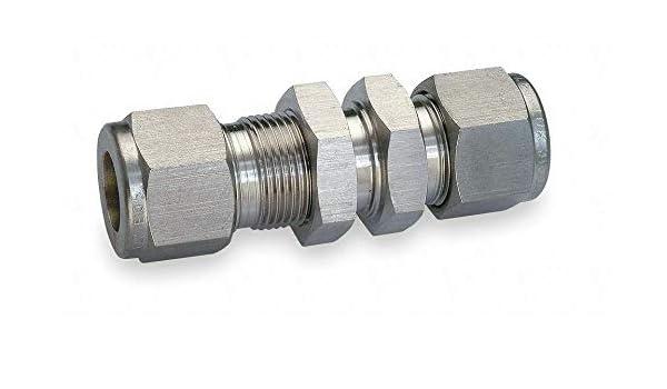 Ham-Let Stainless Steel 316 Let-Lok Compression Fitting 3//8 Plug
