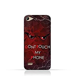 Lenovo Vibe X2 TPU Silicone Case With Don't Touch My Phone 3 Design