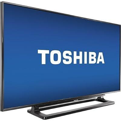 """Toshiba - 40"""" Class (39.5"""" Diag.) - LED - 1080p - HDTV - Black"""