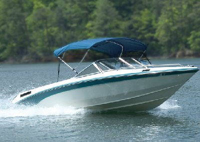 (Carver Industries 402WV 3 Bow 67In-72 InchWhite Vinyl-Bimini Top Made By Carver Covers)