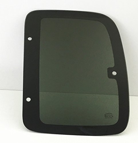 2004 Quarter Window - NAGD for 2001-2004 Toyota Tacoma Pickup 2 Door Extended Cab Driver/Left Side Rear Quarter Window Replacement Glass