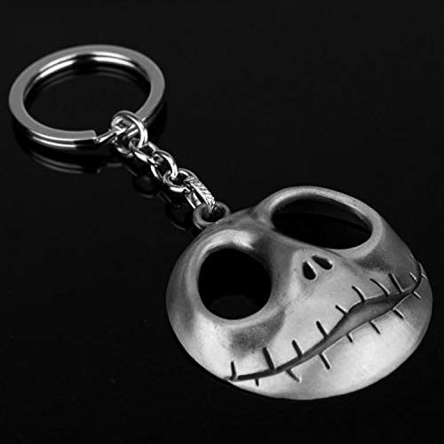 CHITOP 1 PCS! Movie The Nightmare Before Christmas -Jack Keyring Skull Mask Pendant Anime Keychain Toys (3) (Lego Queen Sheet Set)