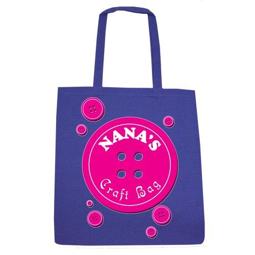 RealSlickTees Nana's Craft Bag Tote Bag Cream