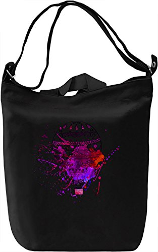 Graphic Air Balloon Borsa Giornaliera Canvas Canvas Day Bag| 100% Premium Cotton Canvas| DTG Printing|
