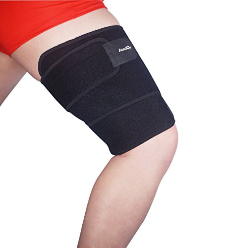 runflory-thigh-support-brace-adjustable-non-slip-thigh-slimmer-trimmer-compression-thigh-sleeve-wrap