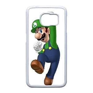 Samsung Galaxy S6 Edge phone case White Super Mario Bros TPP9678254