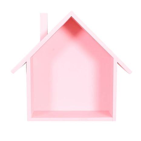 Trifycore Holzhaus Racks Montiert Schwimm Regale Haus Form