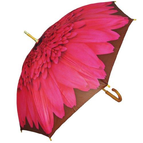 PealRa Pink Gerbera Umbrella