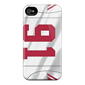 DannyLCHEUNG Iphone 4/4s Comfortable Phone Hard Covers Unique Design Lifelike New York Giants Image [zot4485ElZR]