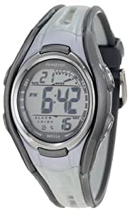 Armitron Sport Unisex 45/7026GRY Light Grey Double Injected Resin Strap Chronograph Watch