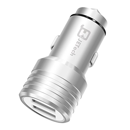 car-charger-jetech-stainless-steel-dual-port-31a-155w-rapid-usb-car-charger-cigarette-charger-c0650
