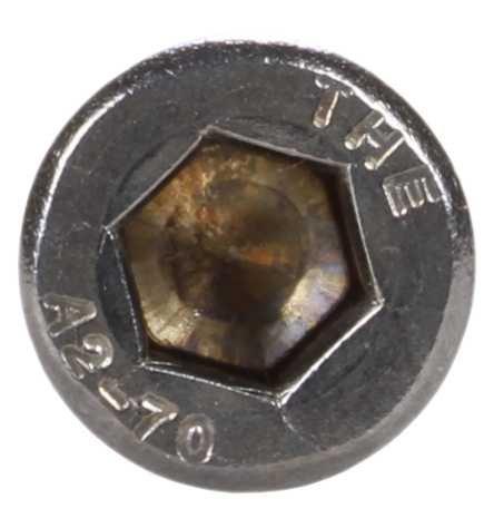 Reidl Blechschrauben mit Kopf 6,3 x 30 mm Art 9051 A4 blank 100 St/ück