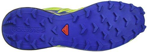 Salomon Herren Speedcross 4 Traillaufschuhe Grün (verde Chiaro / Blu Nautico / Oceano Hawaiian)