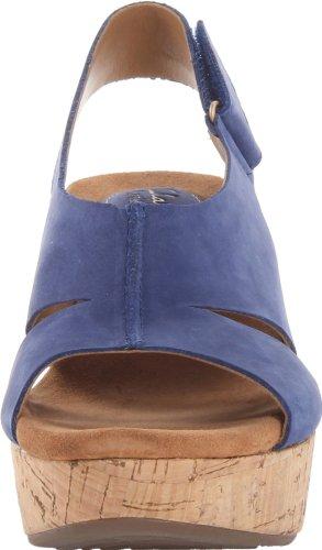 Liquidación de venta caliente Clarks Caslynn Lizzie Mujer Azul medio Piel Sandalia Talla EU 43 Venta de tienda en línea Calidad en venta Envío gratis Q6hLi
